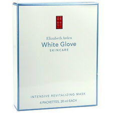 Elizabeth Arden White Glove Skin Care Intensive Revitalizing Mask NEW 4 packets
