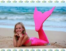 THE2TAILS™  Child Sparkle Pink Tail Fun Affordable w/ Fin