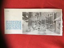 m2r ephemera  1965 picture naafi mobile travelling men's wear shop germany