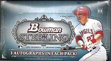 2012 Bowman Sterling Factory Sealed Baseball Hobby Box   Bryce Harper RC ??