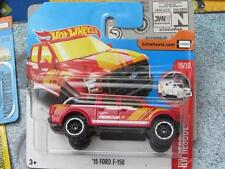 Hot Wheels 2017 #185/365 '15 FORD F-150 red HW Rescue