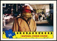 Raphael..#23 Teenage Mutant Ninja Turtles The Movie 1990 Topps Trade Card(C1324)