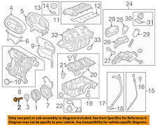 GM OEM Engine Parts-Crankshaft Crank Pulley Bolt 24447224