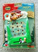 SNOOPY´S PARACHUTE CATCH GAME (TIGER 1999! HANDHELD, NO WATCH). VERY NEAR MINT!
