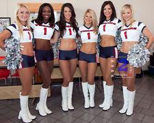 "Houston Texans Cheerleaders 10""x 8"" Great Color PHOTO REPRINT"