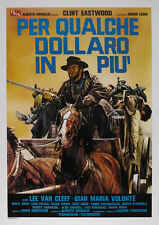 For a few dollars more 1965 Clint Eastwood cult Movie poster print 8