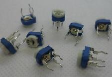 20pcs 50K ohm Mark 503 0.1Watt White-Blue adjustable  Potentiometer#SB403-5