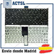 TECLADO ESPAÑOL para PORTATIL ACER Travelmate B1 Negro (Frosted Keycap,For Win8)