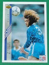 FOOTBALL CARD UPPER DECK 1994 USA 94 ATHANASIOS KOLITIDAKIS GRECE GREECE HELLAS