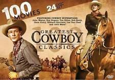 100 Greatest Cowboy Classics (DVD, 2013, 24-Disc Set) - NEW!!