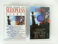 Sleepless In Seattle Soundtrack & More Songs For Sleepless Nights Cassette Lot 2