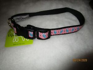 UPCOUNTRY DOG COLLARS - STYLES AND COLORS - SEAHORSES, FLORAL, PAW PRINT