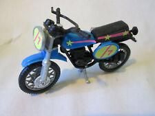 1970 Era Blue Diecast Motorcycle Motocross - Hong Kong (Very Nice Dirt Bike)