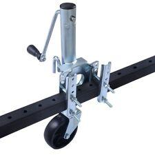 Trailer Side Wind Mount Swivel Jack Boat RV Swing Away Camper Wheel Bolt 1000lb