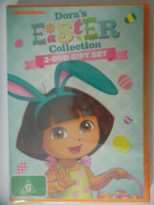 DORA,S EASTER COLLECTION 2 X DVDS , 2013 , SEALED