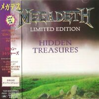 Megadeth - Hidden Treasures Limited Edition (Original Japan CD w/OBI) TOCP-8555