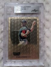 Ryan Jensen Leaf Metal Draft Super Prismatic  1/1 Slabbed Production Proof! Cubs