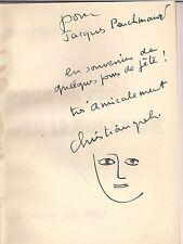 Envoi autographe de Christian Gali. Pour en finir avec le mot femme