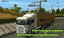 GPS 7 POUCES  DRIVE-4.3  SPECIAL POIDS LOURDS CAMION VOITURE, BUS ET CAMPING