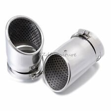 For Subaru Forester 2010-2014 Stainless Steel Exhaust Muffler Pipe Tips 2pcs