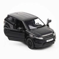1:36 Range Rover Evoque SUV Car Model Metal Diecast Toy Vehicle Collection Black