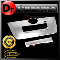 Triple Chrome Tailgate Handle w/Camera Hole Cover 2013 for 13-15 Nissan Frontier