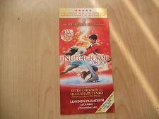 **The Nutcracker On Ice Flyer At London Palladium Good Condition**