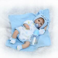 """Adorable 17"""" Real Looking Soft Silicone Realistic Reborn Baby Girl Doll Toddler"""