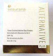 50 ml 1.7 Oz ALTERNATIVE PLUS ACTIVE DAY CREAM FOR DRY SKIN DEAD SEA OF SPA