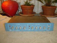 Orban 111B, 111B/1, Blueface, 2 Channel, Spring Reverb Eq Limiter, Vintage Rack