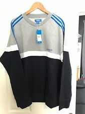 New Mens adidas itasca sweater with tags