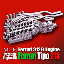 Model Factory Hiro 1/12 Ferrari 312F1 Engine kit