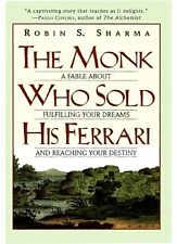 The Monk Who Sold His Ferrari by Robin Sharma No paper book fast shipping