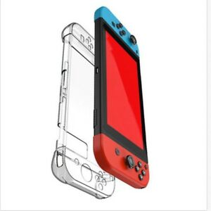 For Nintendo Switch Console Clear Hard Case Cover shockproof Protective Shell