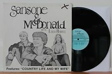 SANSONE & McDONALD With Linda Hankee LP RARE Private Acid Archives Folk Psych
