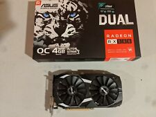ASUS AMD Radeon RX580 4GB GDDR5 Graphics Card (DUAL-RX580-O4G)