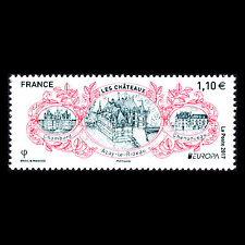 "France 2017 - EUROPA Stamps ""Palaces and Castles"" Architecture - Sc 5234 MNH"