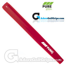 Pure Grips - Midsize Paddle Putter Grip - Red + Free Tape