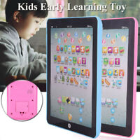 Baby Toddler Kids Learning Tablet Educational Toys 3-6 Years Learning Gift R0X8Z