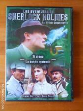 DVD LAS AVENTURAS DE SHERLOCK HOLMES - EL MAGO - LA BANDA MOTEADA (C6)