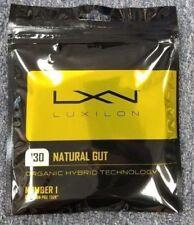 Luxilon Natural Gut 16 Gauge 1.30mm Tennis String