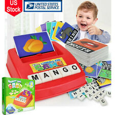 Kids English Alphabet Spelling Toy Letter Game Early Learning Educational Games