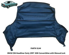 BMW E36 318i 323i 325 328 M3 Convertible Top Headliner 1994-1999 3 Series