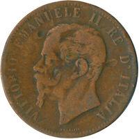 1867 10 CENTESIMI - ITALY - VITTORIO EMANUELE II. 1867   #WT5226