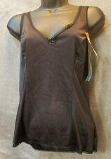 Vanity Fair Black Camisole Top Lingerie Nylon Sleeveless Women's Sz 34/40