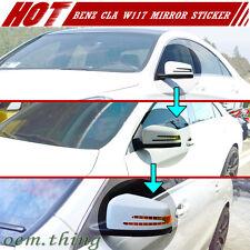 Mercedes BENZ CLA-Class W117 4DR Translucent Yellow Mirror Signal Light Sticker
