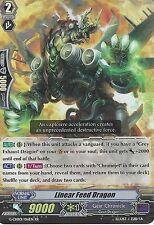 CARDFIGHT VANGUARD CARD: LINEAR FEED DRAGON - G-CHB01/016EN RR