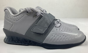 Nike Romaleos 3 XD Cool Grey Black Weight Lifting AO7987-010 Men's 5.5 Women's 7