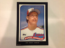 RANDY JOHNSON #647 EXPOS RC 1989 Style 2016 Topps Anthology 5X7 #ed/499 made