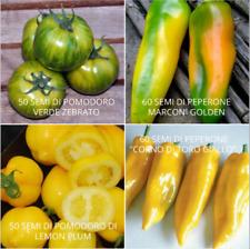POMODORI PEPERONI Giant 5 semi-Paprika